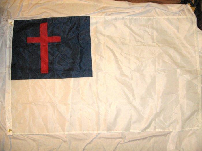 CHRISTIAN RELEGIOUS FLAG FLAG 3X5 3 X 5 NEW