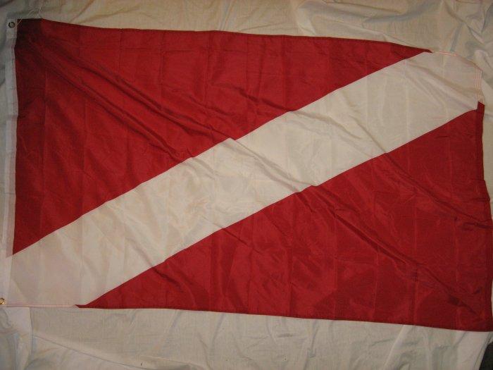 UNIVERSAL DIVE FLAG FLAG 3X5 3 X 5 NEW