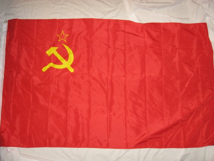 OLD STYLE U.S.S.R USSR NATIONAL FLAG SIZE 3X5 3 X 5 NEW