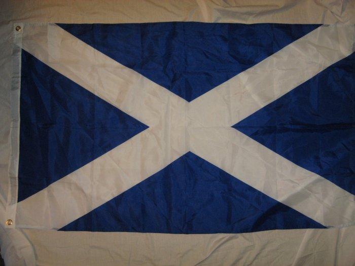 ST ANDREWS CROSS FLAG SIZE 3X5 3 X 5 NEW