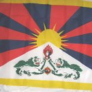 TIBETAN NATIONAL FLAG 3 X 5 3X5 NEW IN PACKAGE