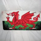 WELSH WALES AGED LICENSE PLATE NEW IN PACKAGE