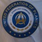 STAR TREK STAR FLEET COMMAND SEAL SIGN 8 INCHES NEW