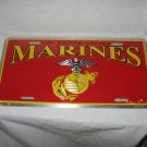 MARINE CORPS LOGO LICENSE PLATE NEW 6 X 12 METAL