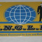 MAN FROM UNCLE LICENSE PLATE 6 X 12 NEW
