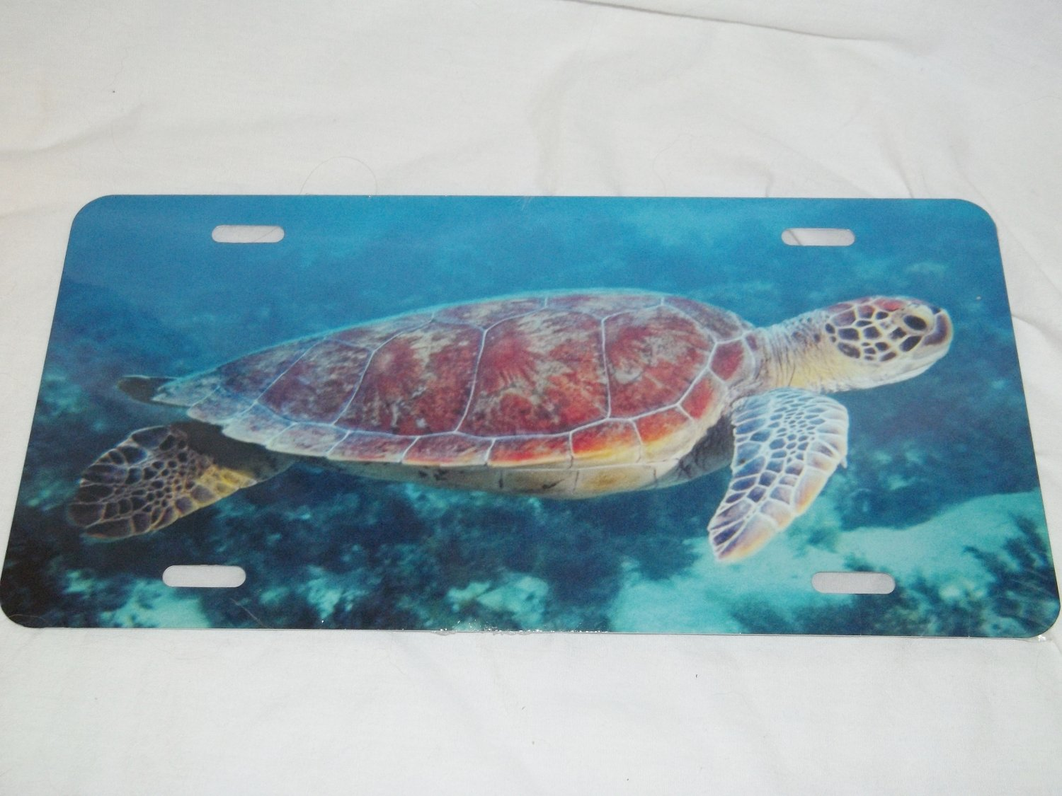 SEA TURTLE LICENSE PLATE 6 X 12 NEW