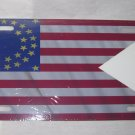 CIVIL WAR 35 STAR CAVALRY GUIDON FLAG LICENSE PLATE 6 X 12 NEW ALUMINUM