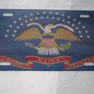 CIVIL WAR 20TH MAINE UNION FLAG LICENSE PLATE 6 X 12 NEW ALUMINUM