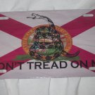 FLORIDA STATE GADSDEN VARIENT FLAG LICENSE PLATE 6 X 12 NEW ALUMINUM