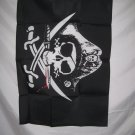 PIRATE TRICORNER DEADMANS CHEST FLAG 2 X 3 2X3 NEW