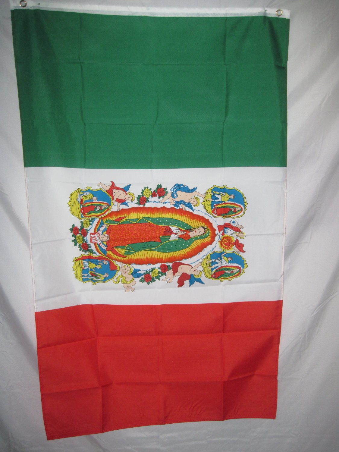 OUR LADY OF GUADALUPE FLAG MEXICO FLAG 3 X 5 3X5 NEW
