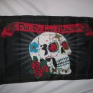 MEXICAN DAY OF THE DEAD SUGAR SKULL FLAG SIZE 3X5 3 X 5 FEET NEW