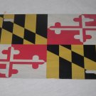 GRUNGED MARYLAND STATE FLAG LICENSE PLATE 6 X 12 NEW