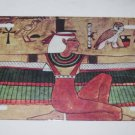 EGYPTIAN ISIS GODDESS LICENSE PLATE 6 X 12 INCHES NEW ALUMINUM
