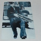 CLYDE CHESTNUT BARROW PHOTO REPRODUCTION SIGN 8 X 12 INCHES NEW ALUMINUM