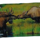 MOOSE LOVE LICENSE PLATE 6 X 12 INCHES NEW ALUMINUM MADE IN USA