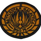 BATTLESTAR GALACTICA BSG 75 ROUND SHOULDER PATCH 2.5 INCHES ACROSS