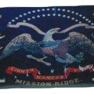 8TH KANSAS CIVIL WAR FLAG LICENSE PLATE 6 X 12 INCHES NEW ALUMINUM MADE IN USA