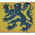 FLANDERS FLAG REFRIGERATOR MAGNET SIZE 2 X 3 INCHES NEW ALUMINUM