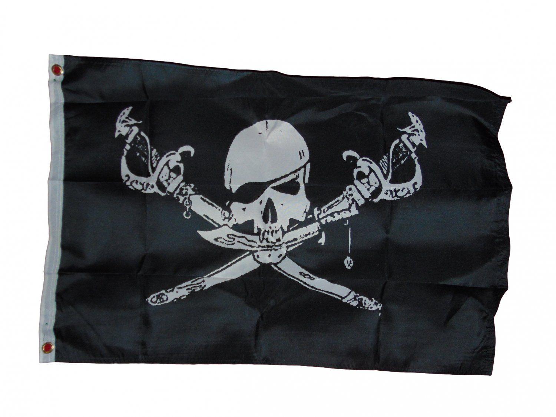 PIRATE BRETHREN OF THE COAST FLAG 2 X 3 2X3 NEW