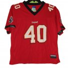 PRE OWNED VINTAGE MIKE ALSTOTT TAMPA BAY BUCCANEERS JERSEY SIZE LARGE YOUTH