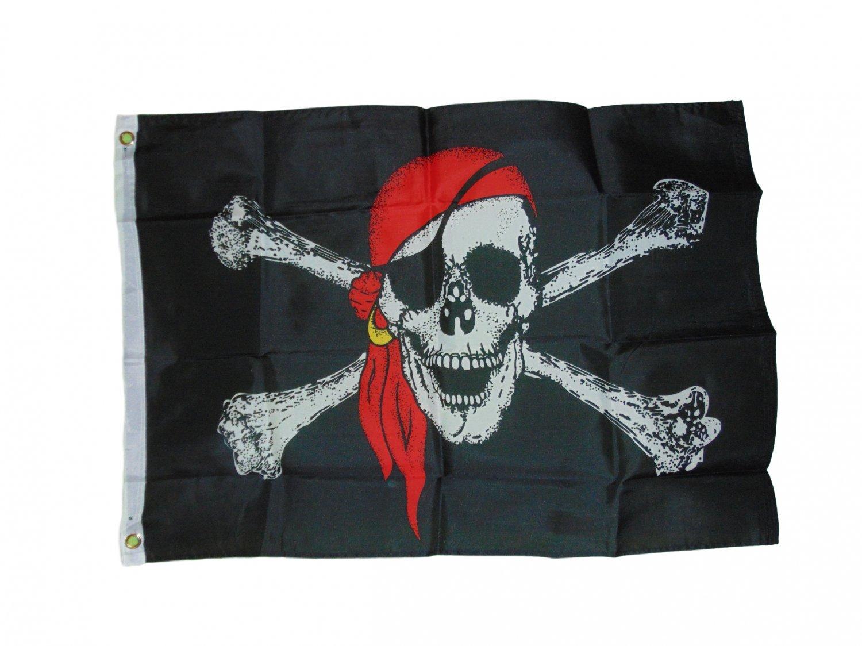 Red pirate bandana