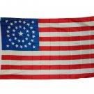 CIVIL WAR 34 STAR UNION FLAG 3X5 3 X 5 FEET NEW