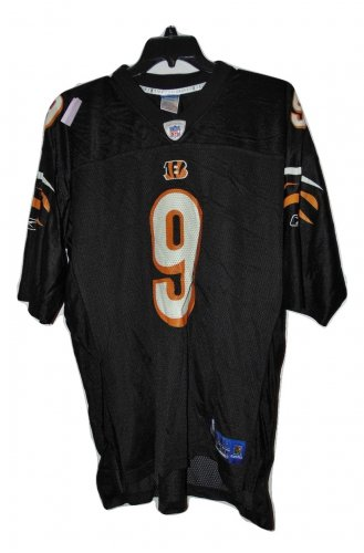 PRE OWNED CINCINNATI BENGALS PALMER JERSEY SIZE XL THROW BACK