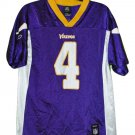 MINNESOTA VIKINGS FAVRE JERSEY SIZE XL YOUTH NWT REEBOK