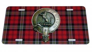 SCOTTISH CLAN MACPHERSON LICENSE PLATE 6 X 12 INCHES NEW ALUMINUM SCOTLAND