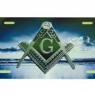 FREEMASONS BEACH LICENSE PLATE 6 X 12 INCHES NEW ALUMINUM