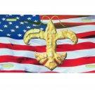 LOUISIANA USA CRAWFISF FLEUR DE LIS LICENSE PLATE 6 X 12 INCHES NEW ALUMINUM