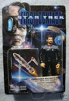 STAR TREK FIRST CONTACT Riker MOC