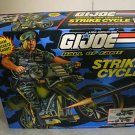 G.I. JOE HALL OF FAME STRIKE CYCLE MIMB RARE