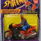 SPIDERMAN ANIMATED Mystery Bump & Go Motorcycle HTF MOC