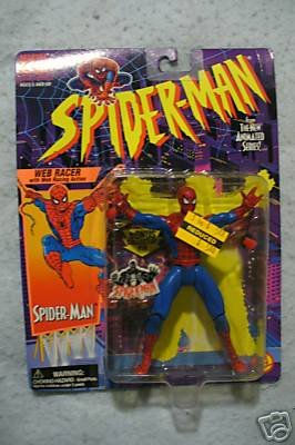 SPIDERMAN ANIMATED Web Racer Spider-Man  MOC