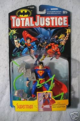 Total Justice SUPERMAN  MOC