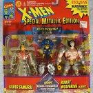 X-Men Metallic Edition SILVER SAMURAI & ROBOT WOLVERINE