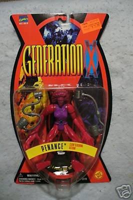 GENERATION X PENANCE  Figure Toy Biz MOC