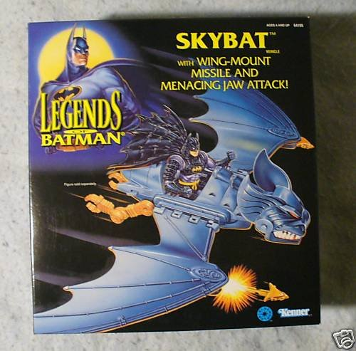 Legends of Batman SKYBAT MIB
