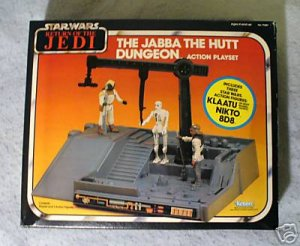 Star Wars Vintage Jabba The Hutt  Dungeon Sealed MIB