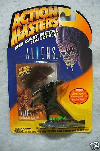 ALIENS Action Masters Die Cast Alien Figure MOC