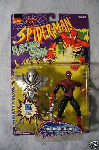 SPIDERMAN Electro Spark Electro Shock Spidey  MOC