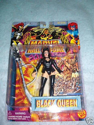 Marvel Hall Of Fame  Black Queen  MOC