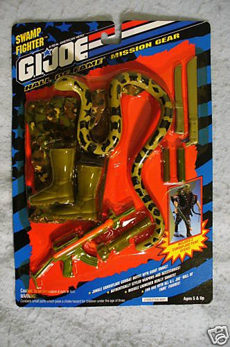 GI Joe 12 inch HOF JUNGLE FIGHTER Mission Gear MIP !
