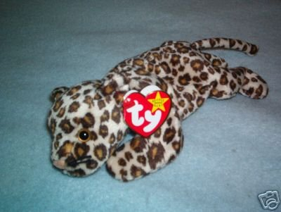 Ty 1996 Freckles the Leopard ~ Beanie Baby