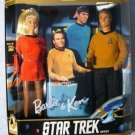 STAR TREK  BARBIE and KEN 30th Anniversary  MIB
