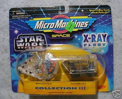 Star Wars 3  Micro Machines X-Ray Fleet Set III MOC