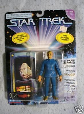 Star Trek Tom Paris Mutated Playmates  MOC