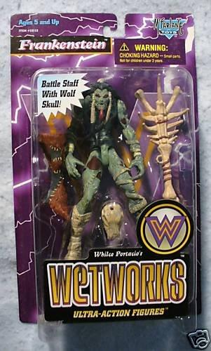 McFarlane Toys Wetworks Frankenstein MOC